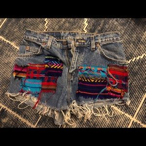 Furst of a kind remade Levi's shorts